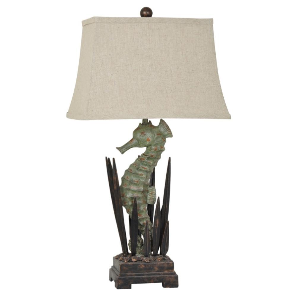 Seahorse Table Lamp | Crestview Collection | CVAVP322