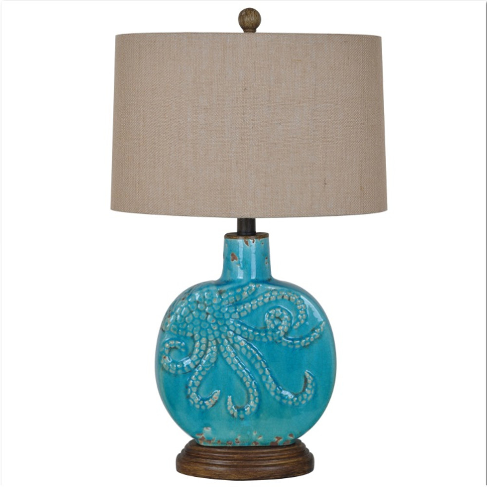 Octopus Table Lamp | Crestview Collection | CVAP1725