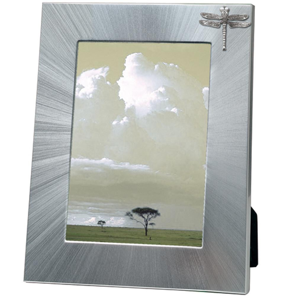 Dragonfly 5x7 Photo Frame | Heritage Pewter | HPIFR3123LG