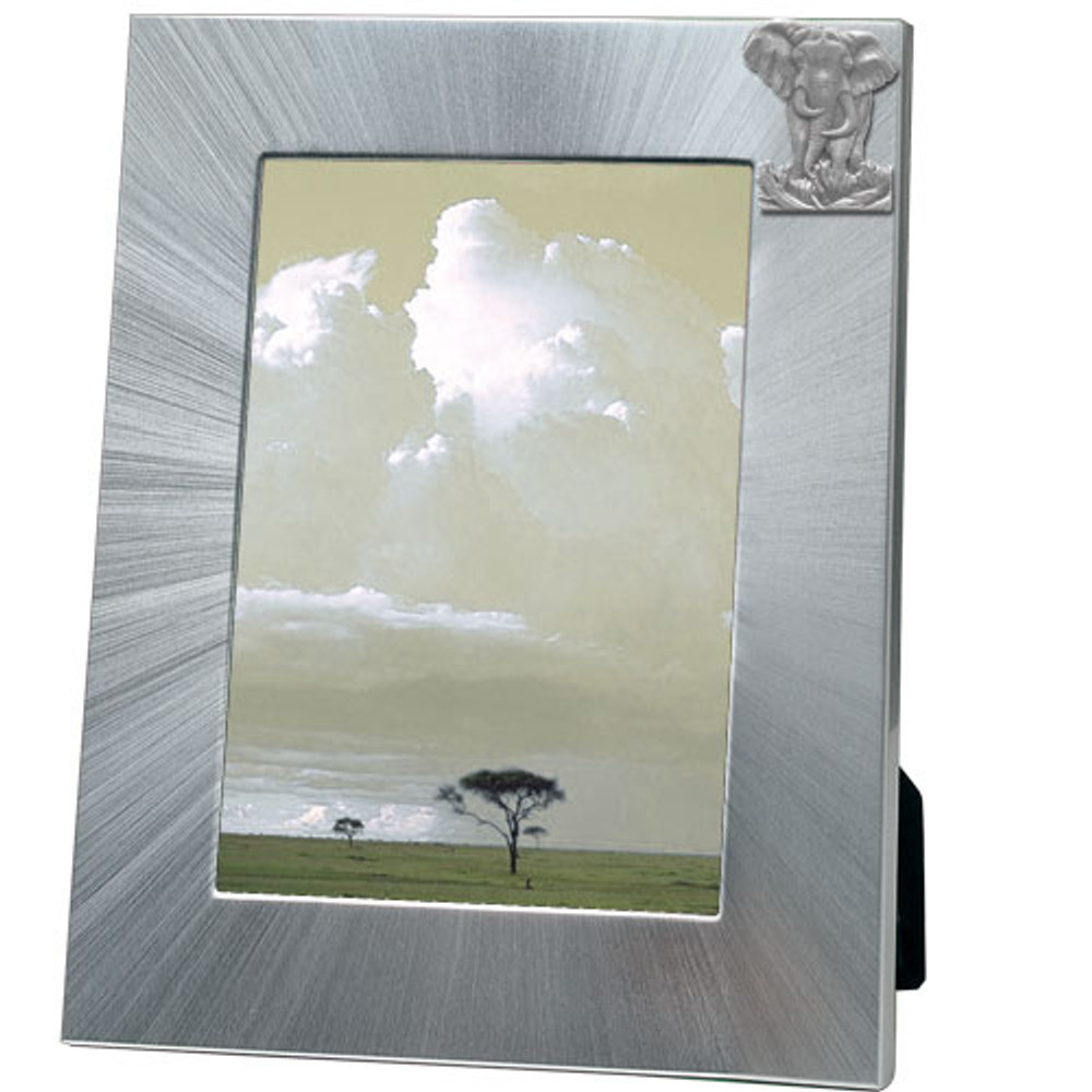 Elephant 5x7 Photo Frame | Heritage Pewter | HPIFR706LG