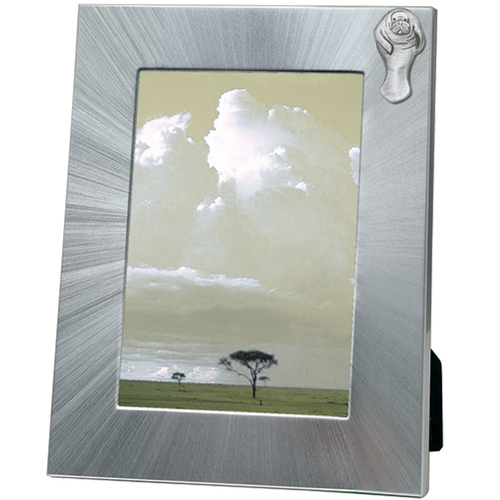 Manatee 5x7 Photo Frame | Heritage Pewter | HPIFR3099LG