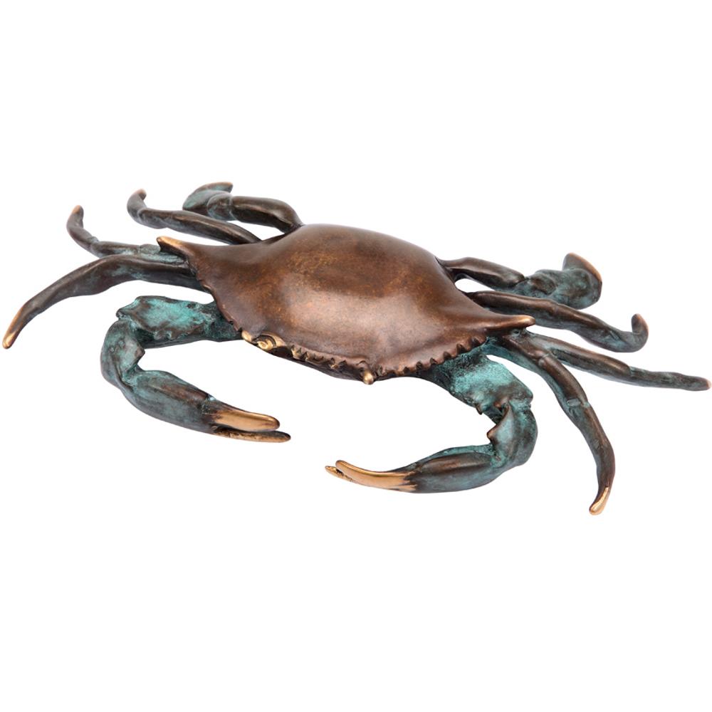 Bluepoint Crab Sculpture | 30514 | SPI Home