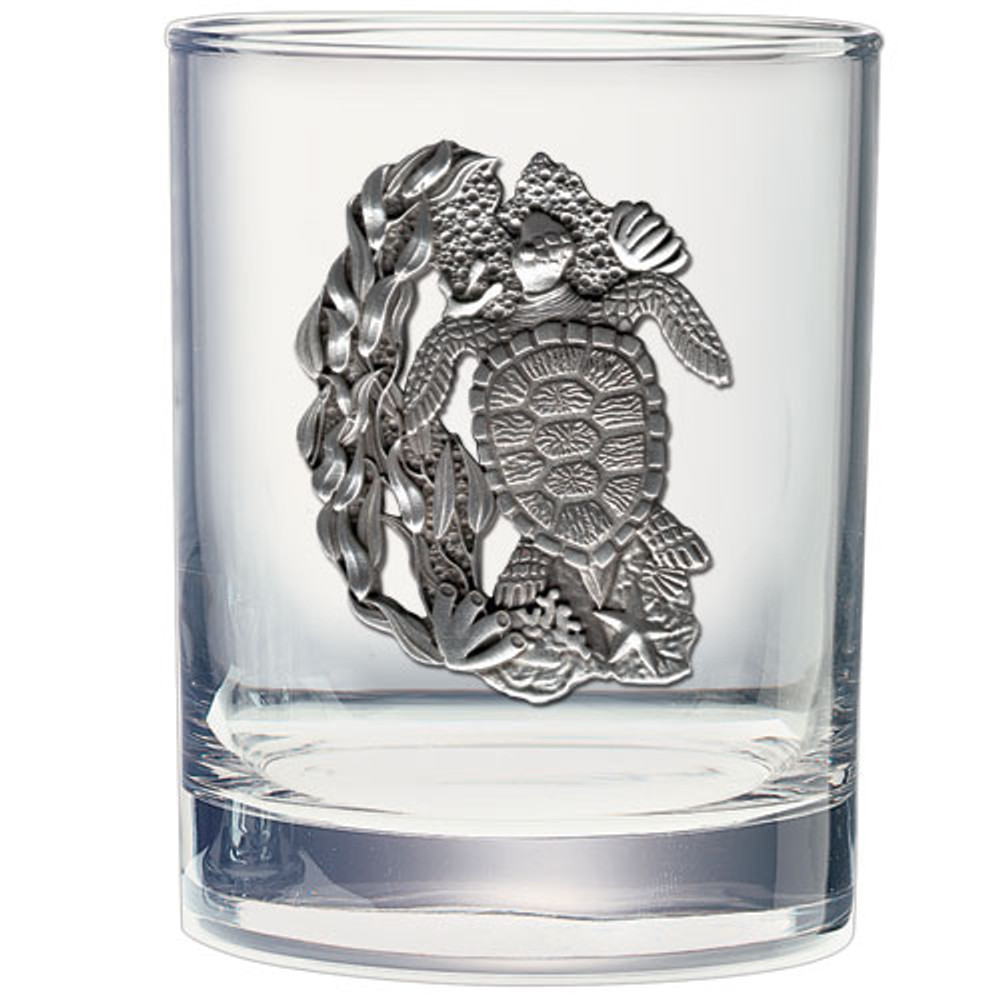 Sea Turtle Decanter Boxed Set | Heritage Pewter | HPICPTB4146 -3