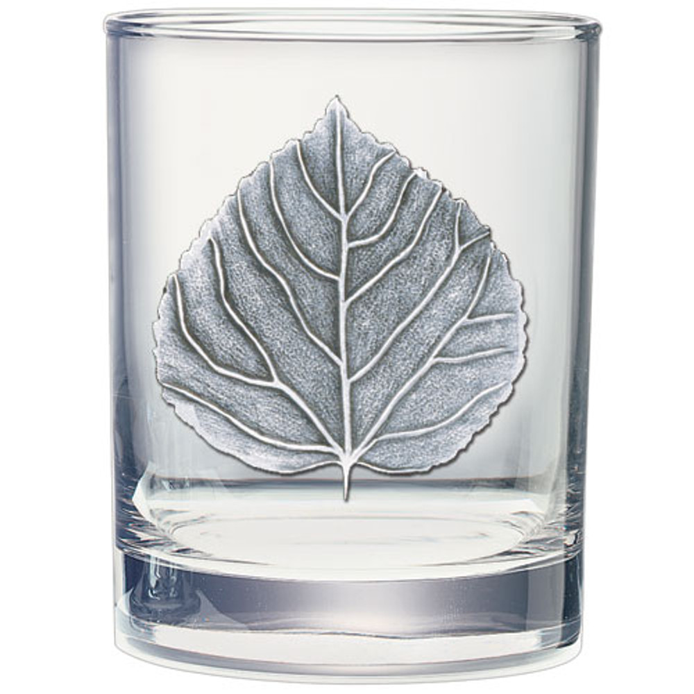 Aspen Leaf Decanter Chest Set | Heritage Pewter | HPICPTC4051 -3