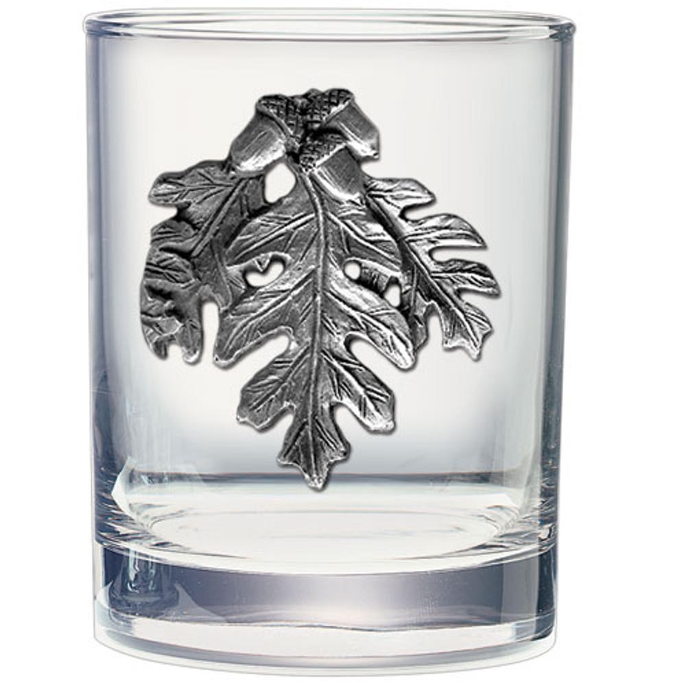 Oak Leaf Decanter Chest Set | Heritage Pewter | HPICPTC4136 -3