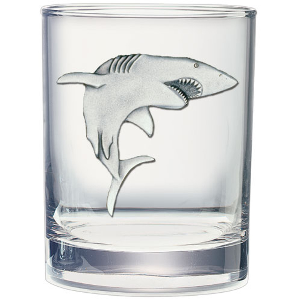 Shark Capitol Decanter Chest Set | Heritage Pewter | HPICPTC3350 -2