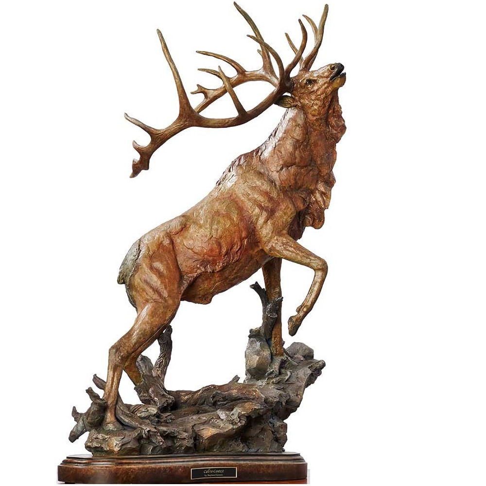 "Elk Sculpture ""Call to Contest"" 