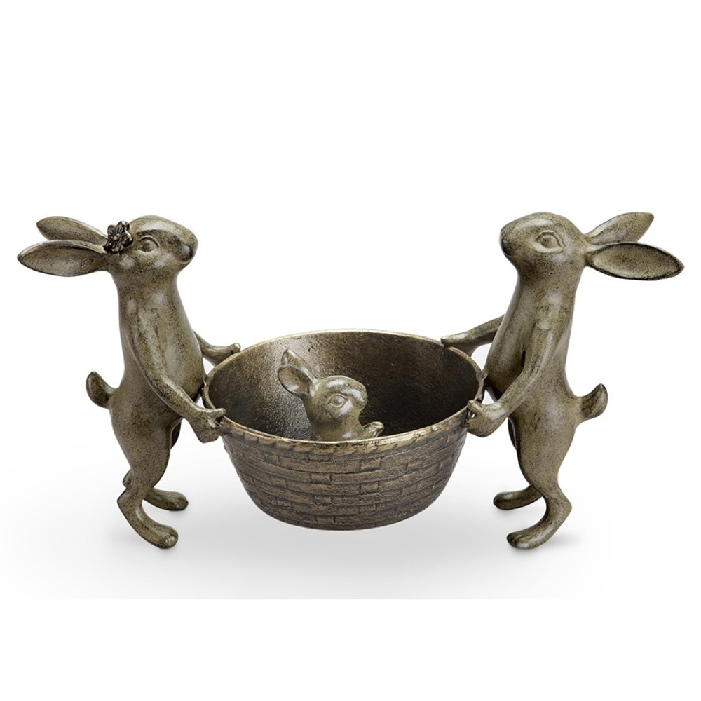 Rabbit Family Planter | 34430 | SPI Home -2