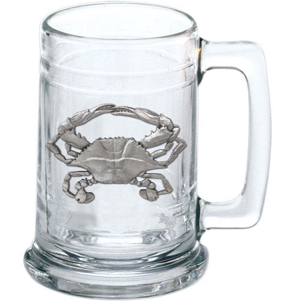 Blue Crab Beer Stein Set of 2 | Heritage Pewter | HPIST4266 -2