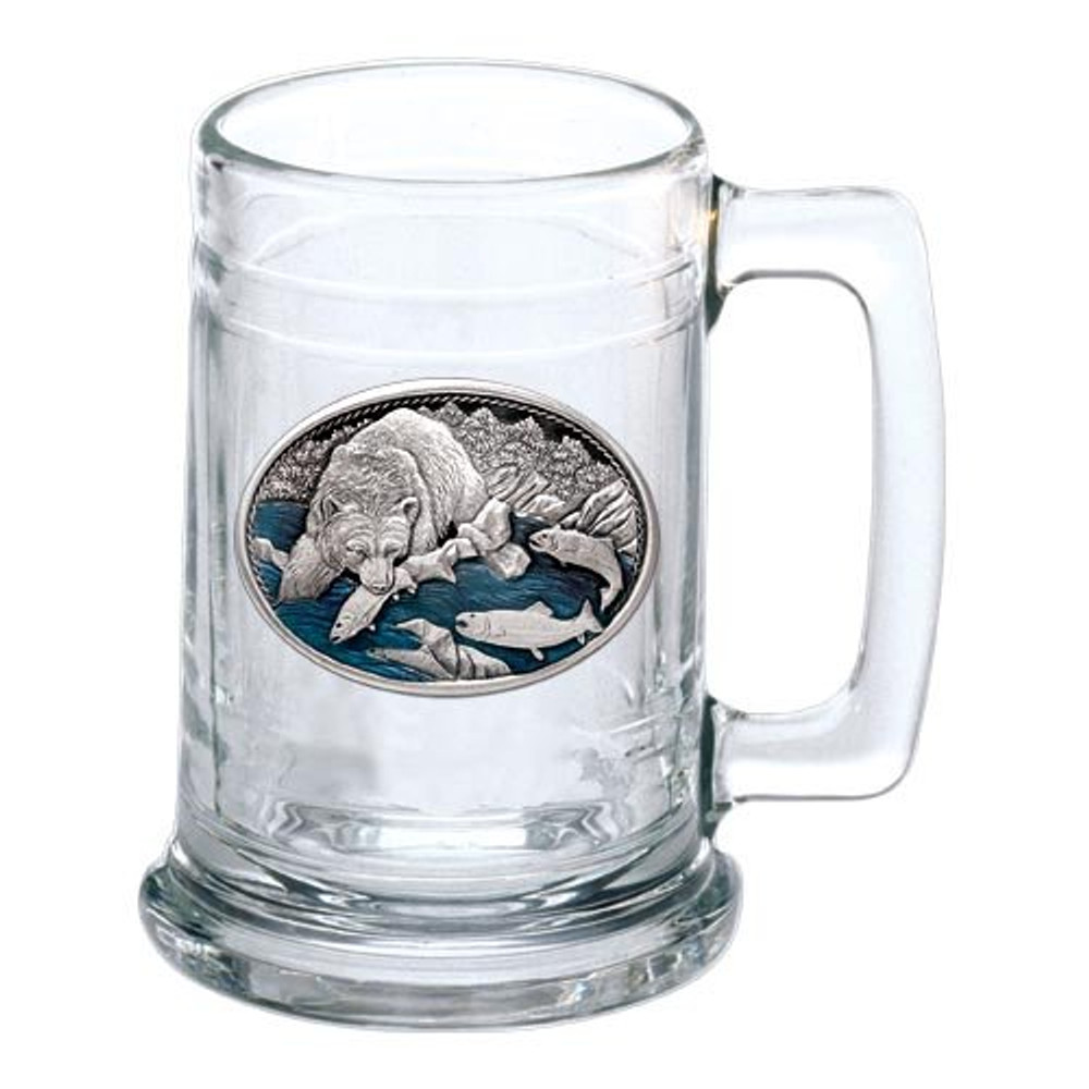 Brown Bear Beer Stein Set of 2 | Heritage Pewter | HPIST118EB -2
