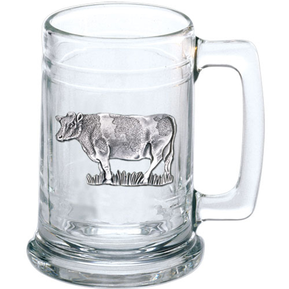 Cow Beer Stein Set of 2 | Heritage Pewter | HPIST3790 -2