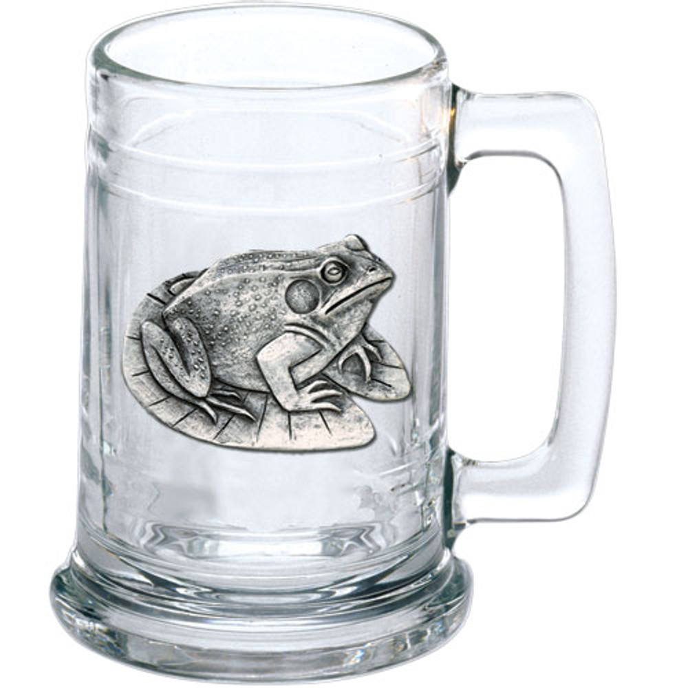 Frog Beer Stein Set of 2 | Heritage Pewter | HPIST4114 -2