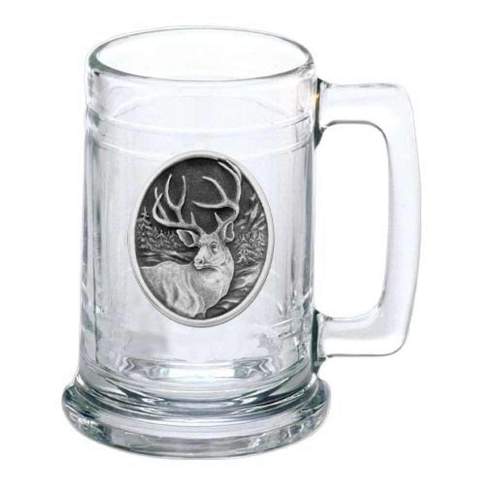 Mule Deer Beer Stein Set of 2 | Heritage Pewter | HPIST210 -2