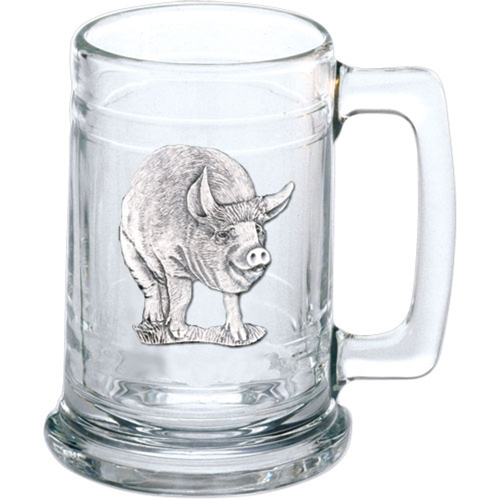 Pig Beer Stein Set of 2 | Heritage Pewter | HPIST3780 -2