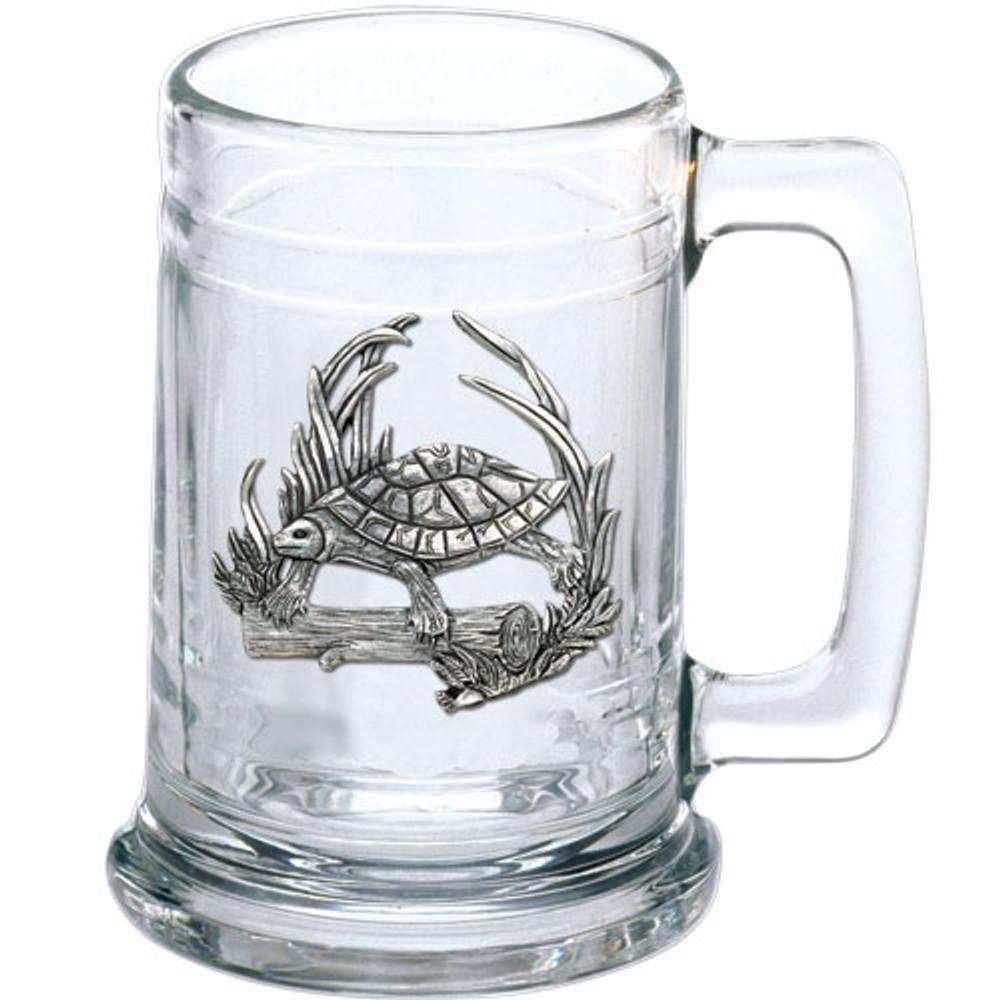 Turtle Beer Stein Set of 2 | Heritage Pewter | HPIST4115 -2