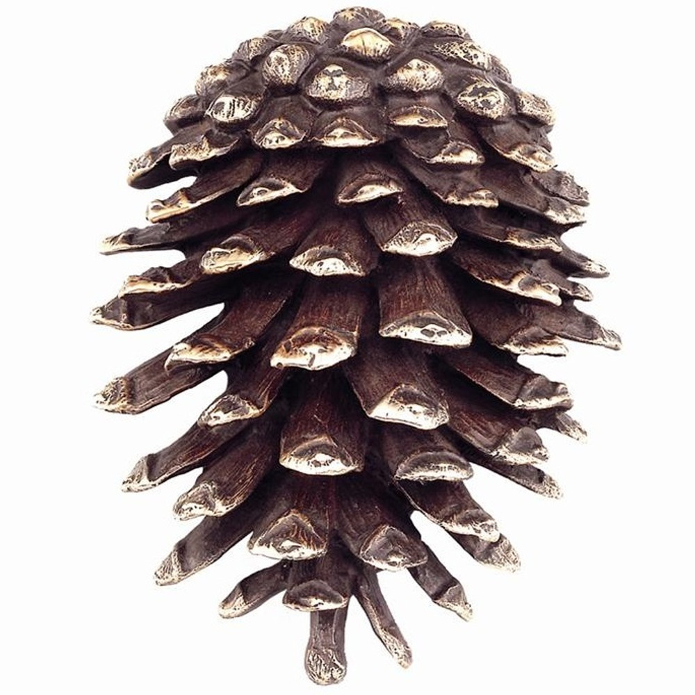 Pinecone Brass Door Knocker | 30746 | SPI Home