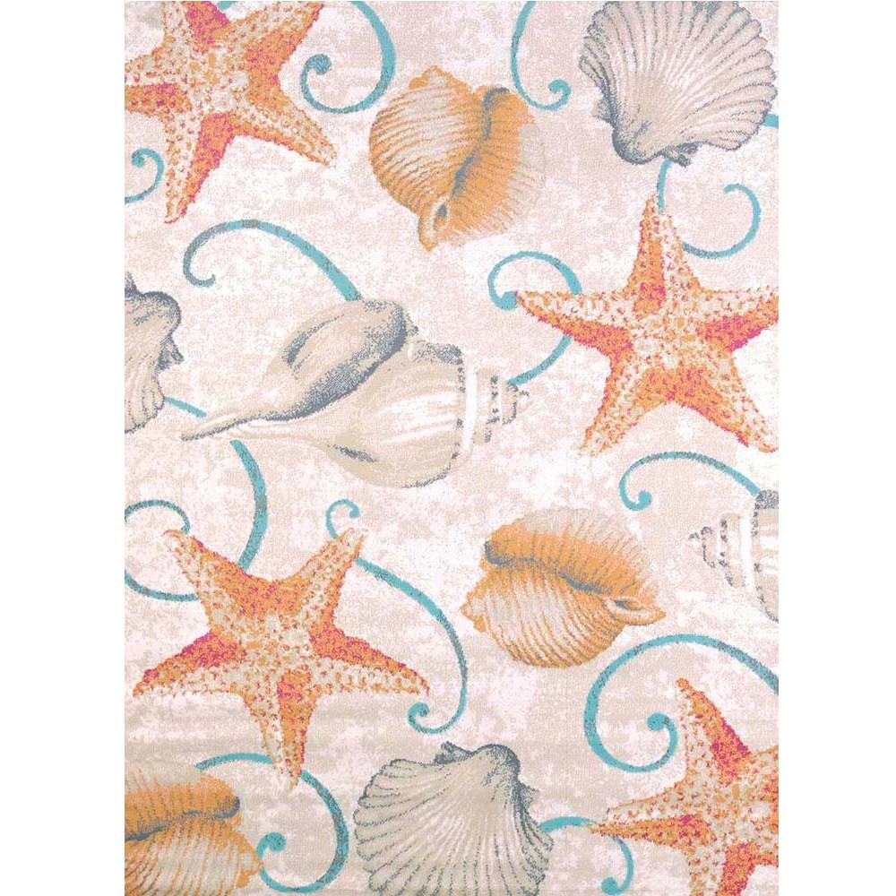 Starfish and Shells Area Rug  | United Weavers | 541-50417