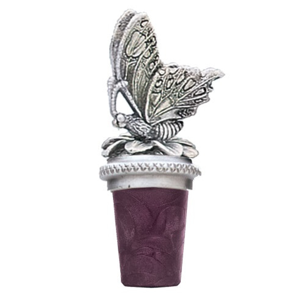 Butterfly Bottle Stopper | Heritage Pewter | BS8508
