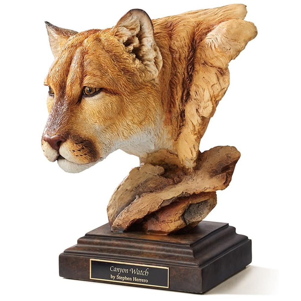 "Cougar Sculpture ""Canyon Watch"" | Mill Creek Studios | 6567443473"