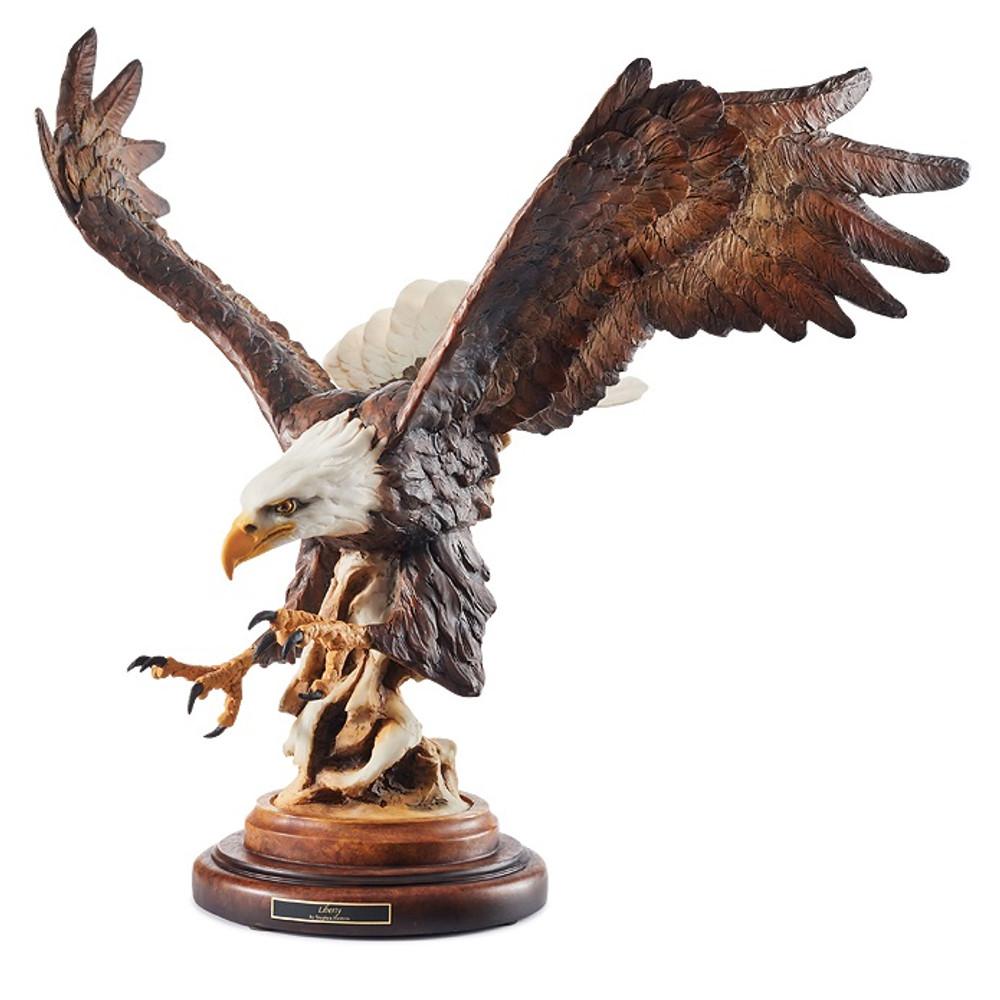 """Eagle Sculpture """"Liberty""""   Mill Creek Studios   6567443232"""
