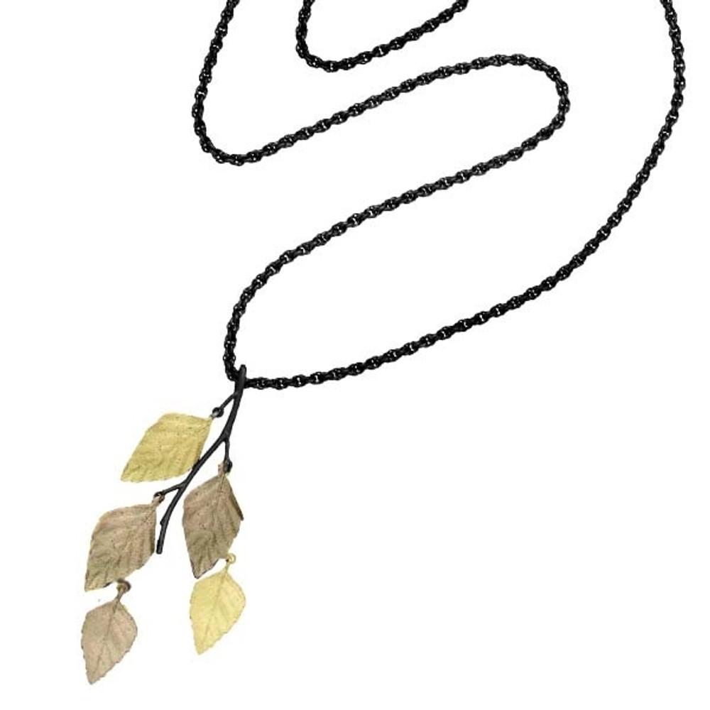 Autumn Birch  Necklace   Michael Michaud Jewelry   9055GMG