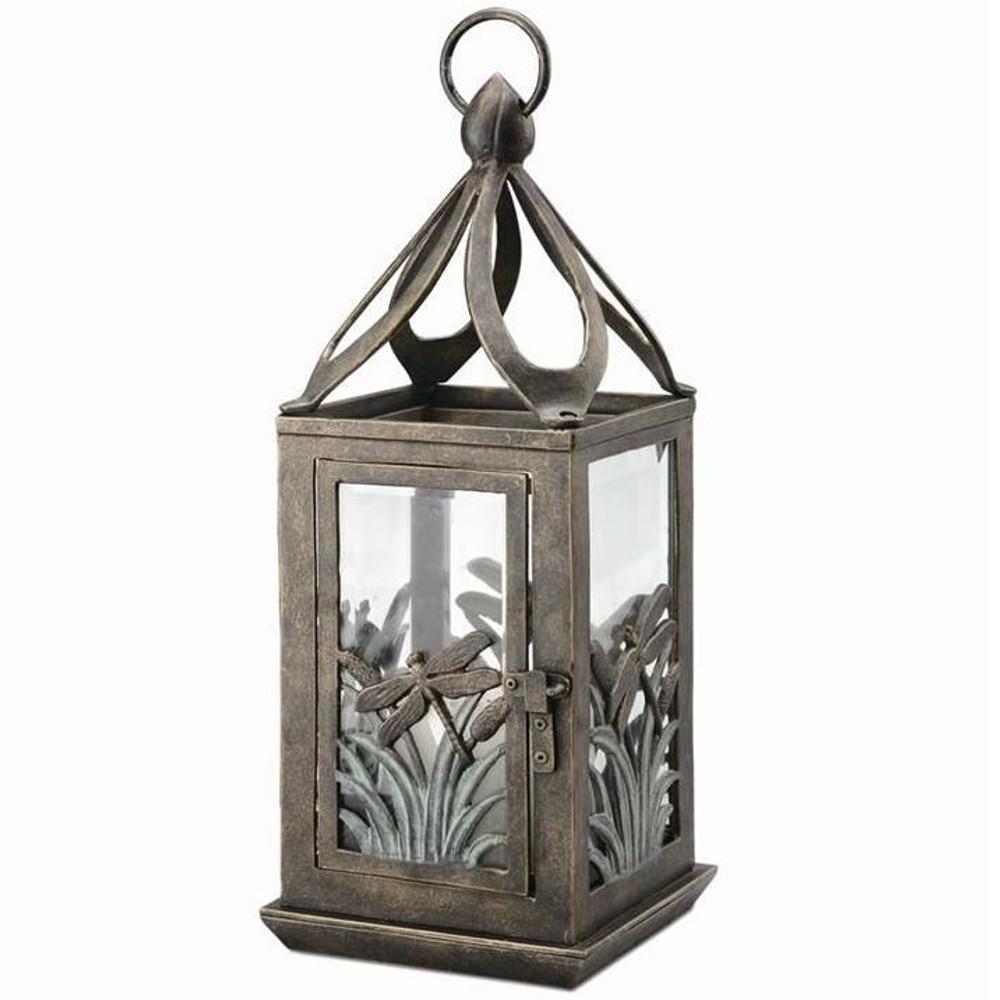 Dragonfly Lantern Candle Holder | 33382 | SPI Home
