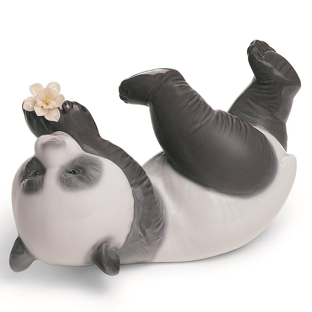 Joyful Panda Porcelain Figurine | Lladro | 1008356