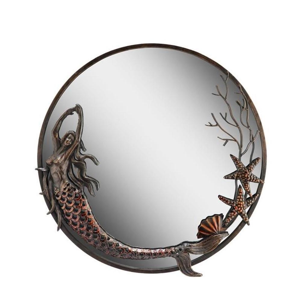Mermaid Round Mirror | 50744 | SPI Home