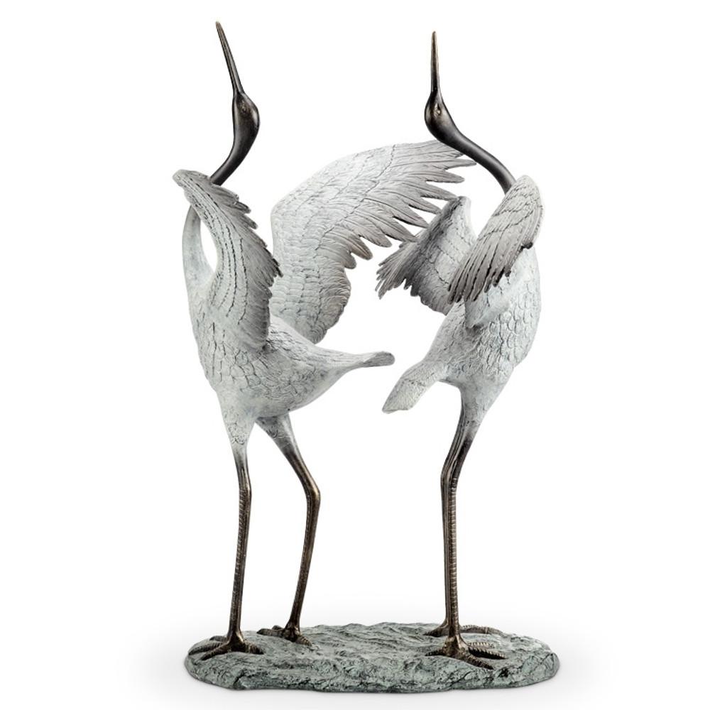 "Crane Garden Sculpture ""Good Fortune"" | 34568"