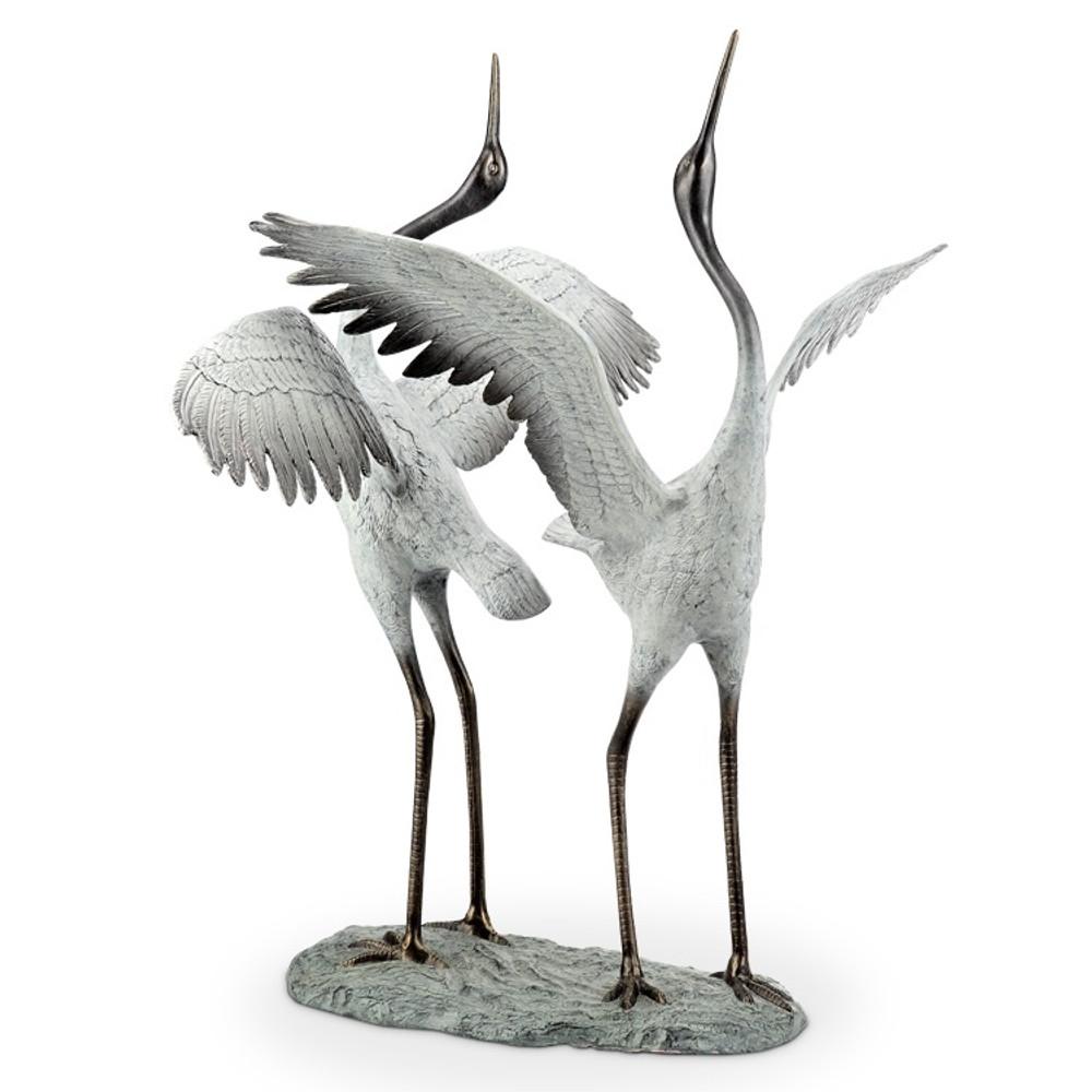 "Crane Garden Sculpture ""Good Fortune"" | 34568 -2"