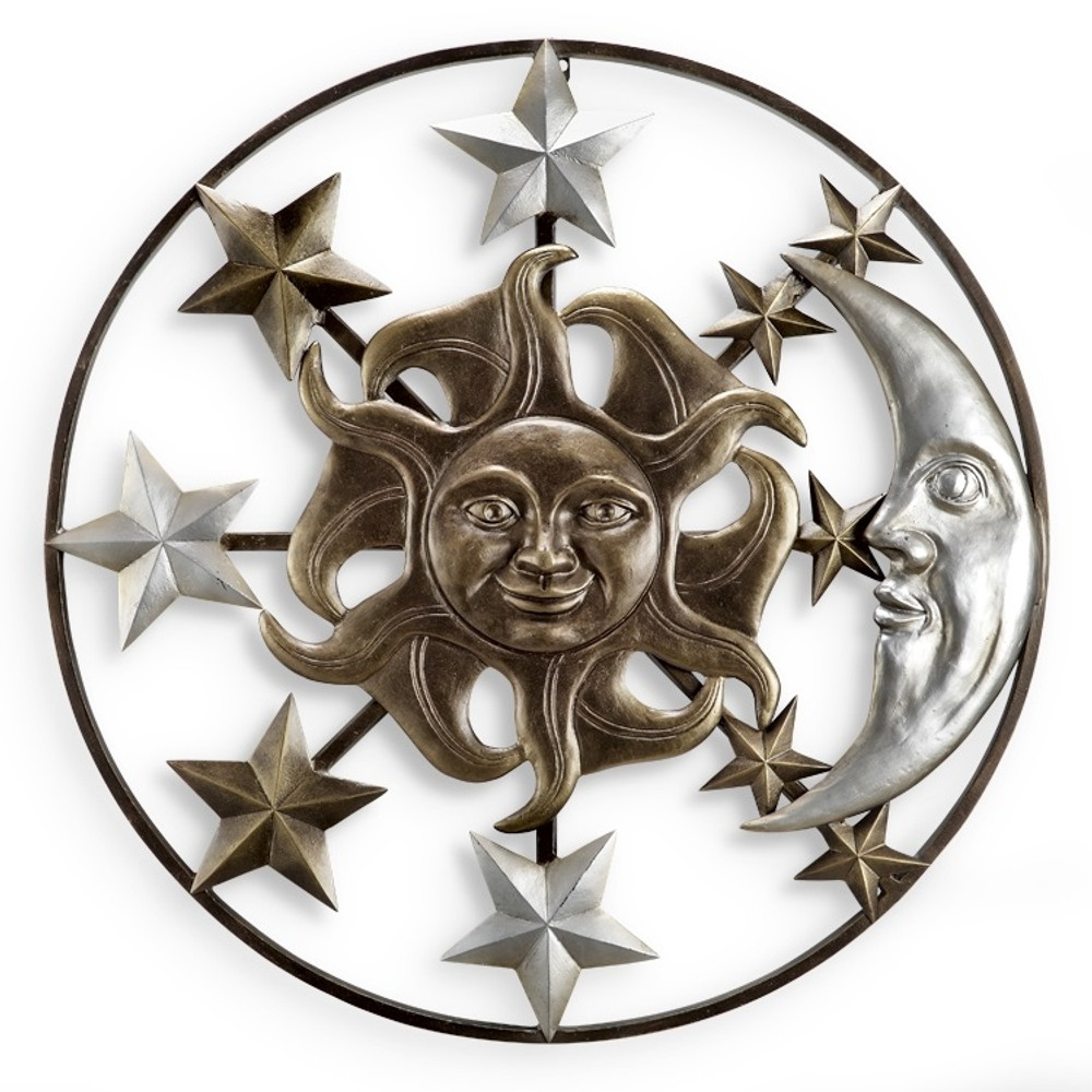 Sun Moon and Stars Wall Plaque | 34561 -2