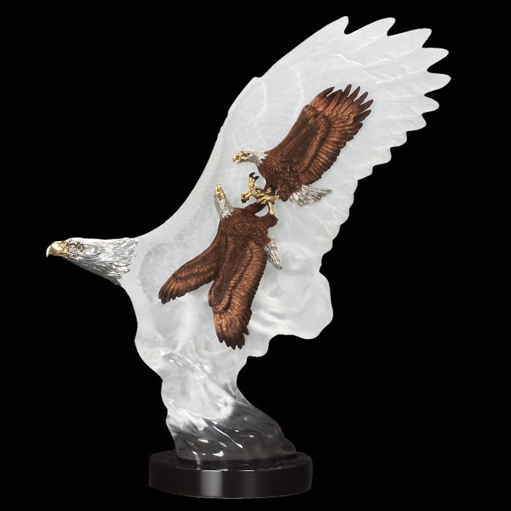 "Eagle Sculpture ""Leading the Way""   8126   Starlite Originals"