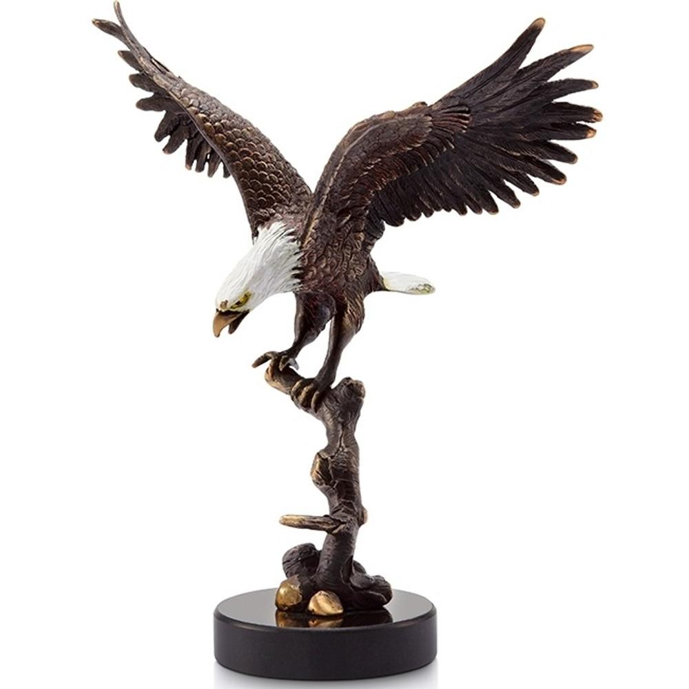 Eagle on Branch Sculpture | 31619 | SPI Home