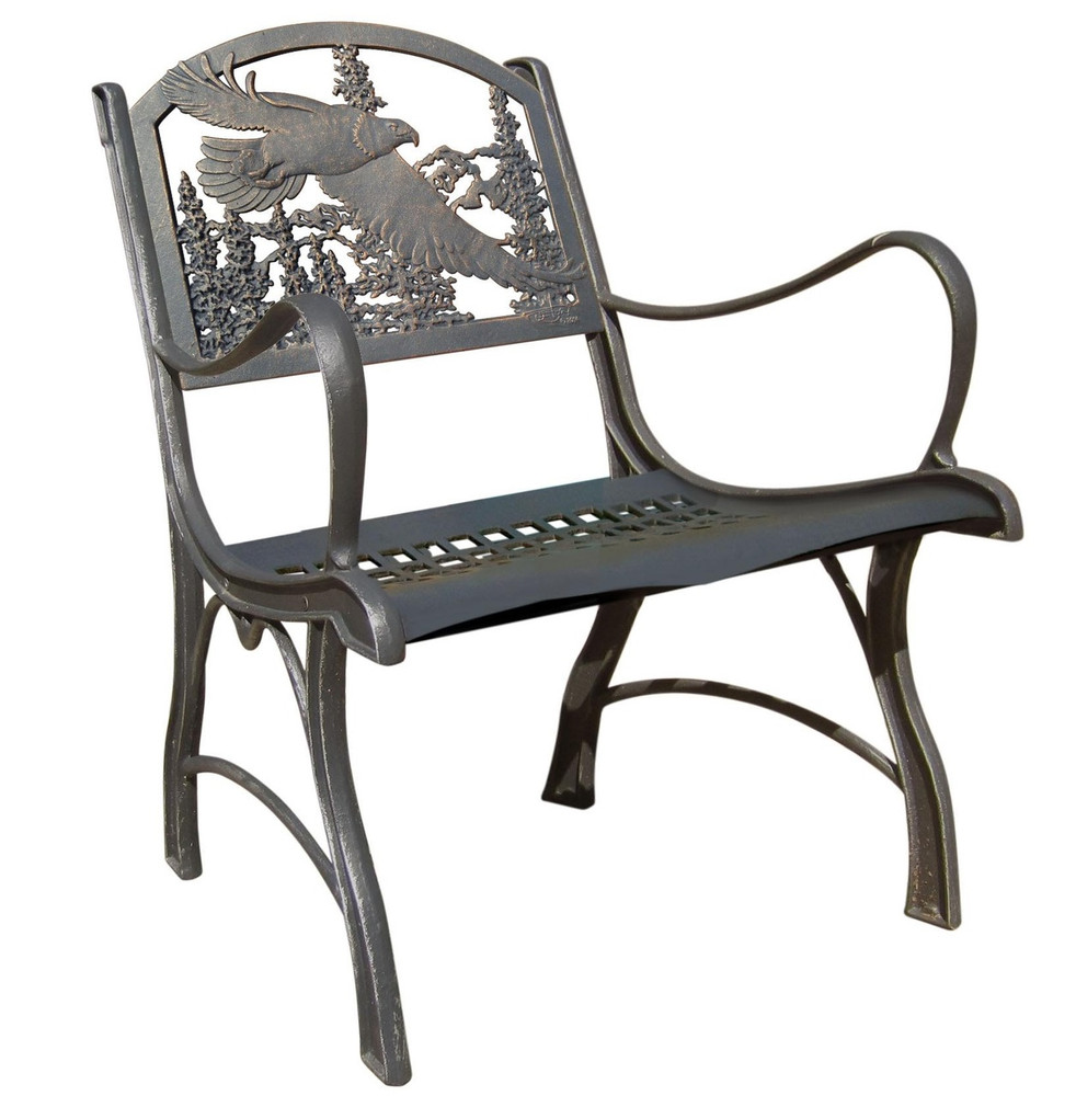 Eagle Cast Iron Chair | Painted sky | PC-EAG