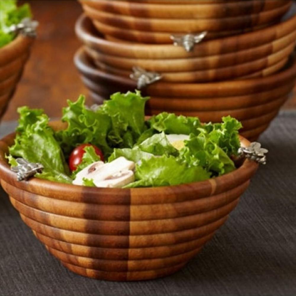 Bee Salad Bowl | Vagabond House | N220BS-1