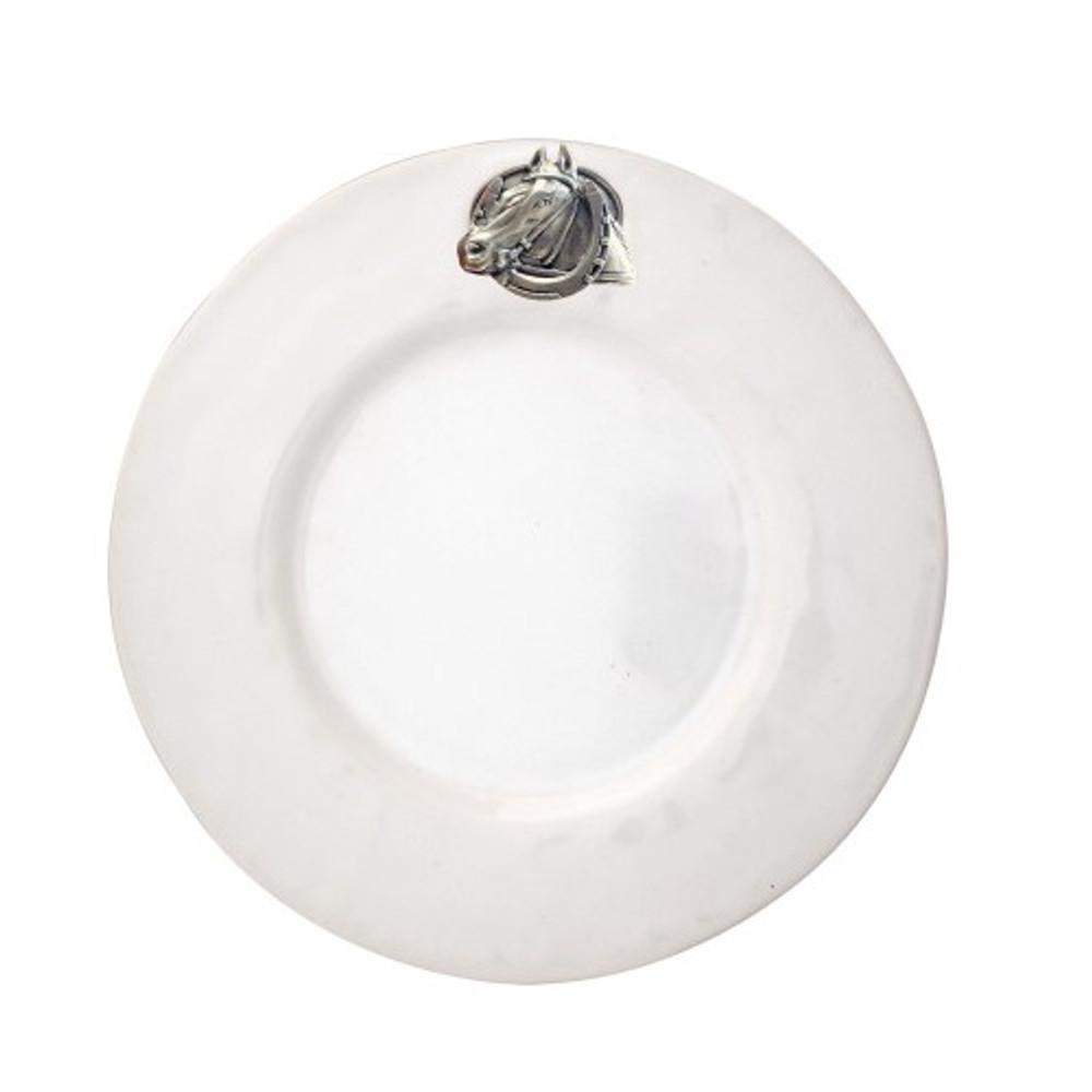 Horse Salad Plate   Vagabond House  H351-EH