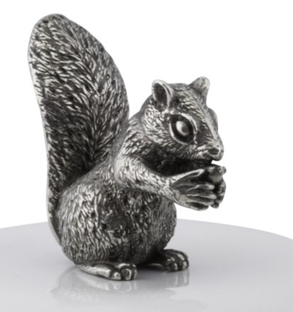 Squirrel Stoneware Canister Set of 2 | Vagabond House | S273S-S263S-2