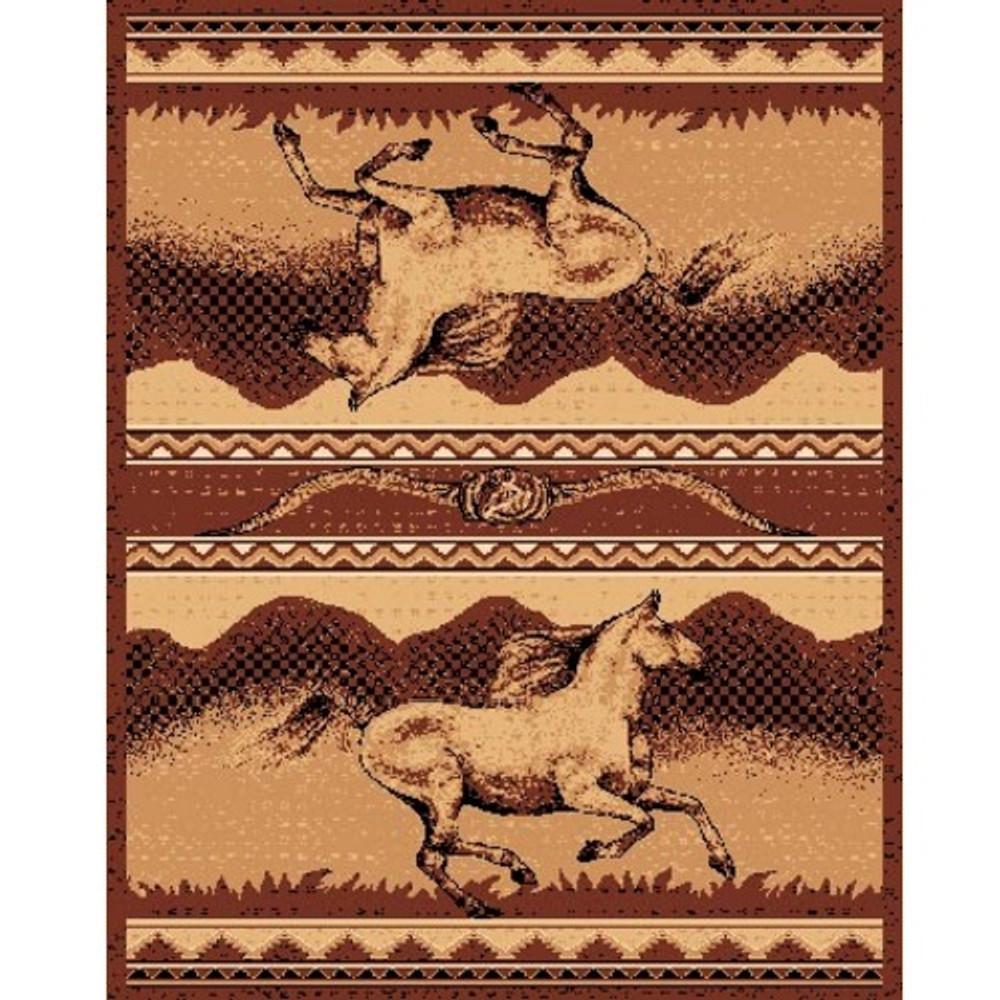 Wild Horse Lodge Area Rug | Persian Weavers | L-373