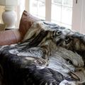 Eagle Owl Sky Kings Throw Blanket   Denali   16119372 -2