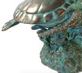 Three Turtles Bronze Fountain Statue | Metropolitan Galleries | SRB45936