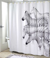 Zebra Shower Curtain Set | Avanti | BlissLiving | 13846H