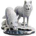 Wolf Sculpture | Winter Warriors | Unicorn Studios | WU77057AA