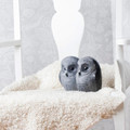 Owl Black Crystal Sculpture | 34052 | Mats Jonasson Maleras-2