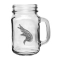 Alligator Mason Jar Set of 2 | Heritage Pewter | HPIMJM3770