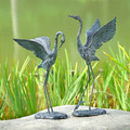 Crane Garden Pair | Exalted | 34280 | SPI Home-1