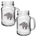 Bear Tribal Mason Jar Mug Set of 2 | Heritage Pewter | HPIMJM3999