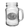 Bobwhite Quail Mason Jar Set of 2 | Heritage Pewter | HPIMJM130