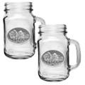 Buffalo Mason Jar Mug Set of 2 | Heritage Pewter | HPIMJM101