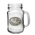 Cape Buffalo Mason Jar Set of 2 | Heritage Pewter | HPIMJM121