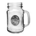 Caribou Mason Jar Set of 2 | Heritage Pewter | HPIMJM211